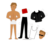 Terminator Celebrity Paper Doll